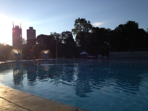 Lasker Pool at Central Park