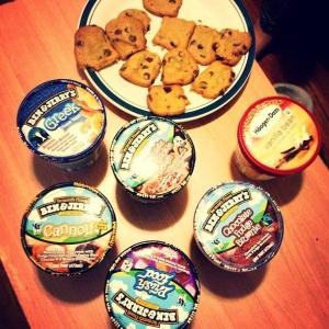 Ice cream dilling