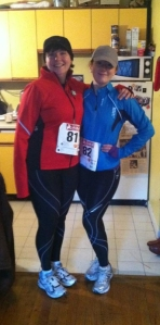 Mumsy and I. First race!