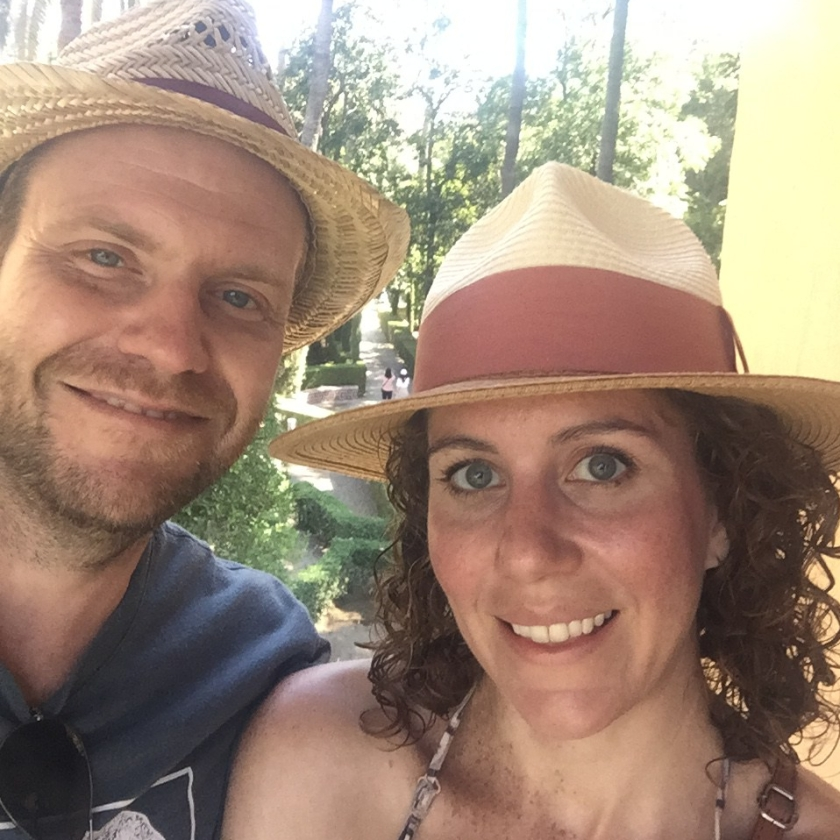 Aubrie and Ryan in Seville
